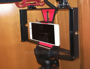 Estabilizador de agarre portátil Neewer para grabar vídeos con el móvil