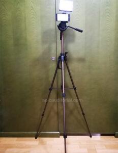 Trípode Hama-61 muy completo, ligero e ideal para grabar vídeos con el móvil