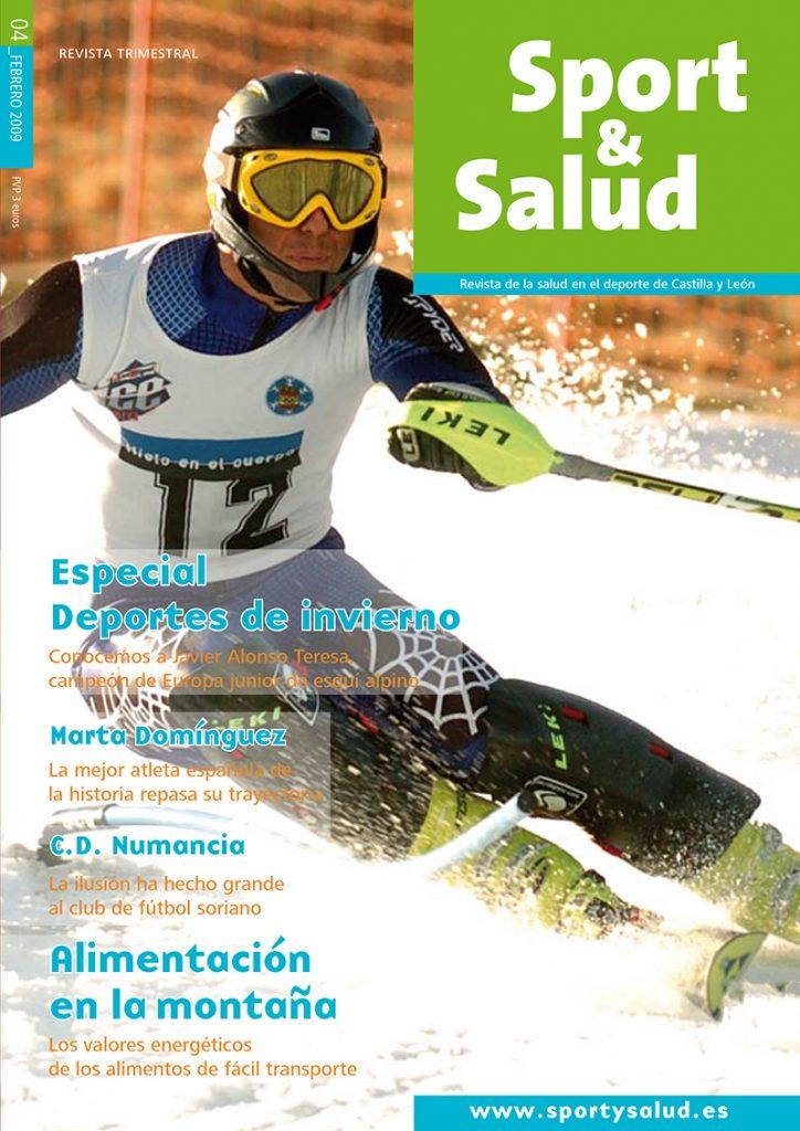 Portada Sport y Salud Nº4